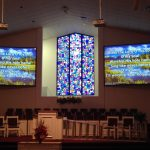 New projector system at Meridian Baptist Church in Jackson, TN
