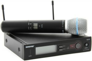 Shure SLX24-B87A Wireless Mic