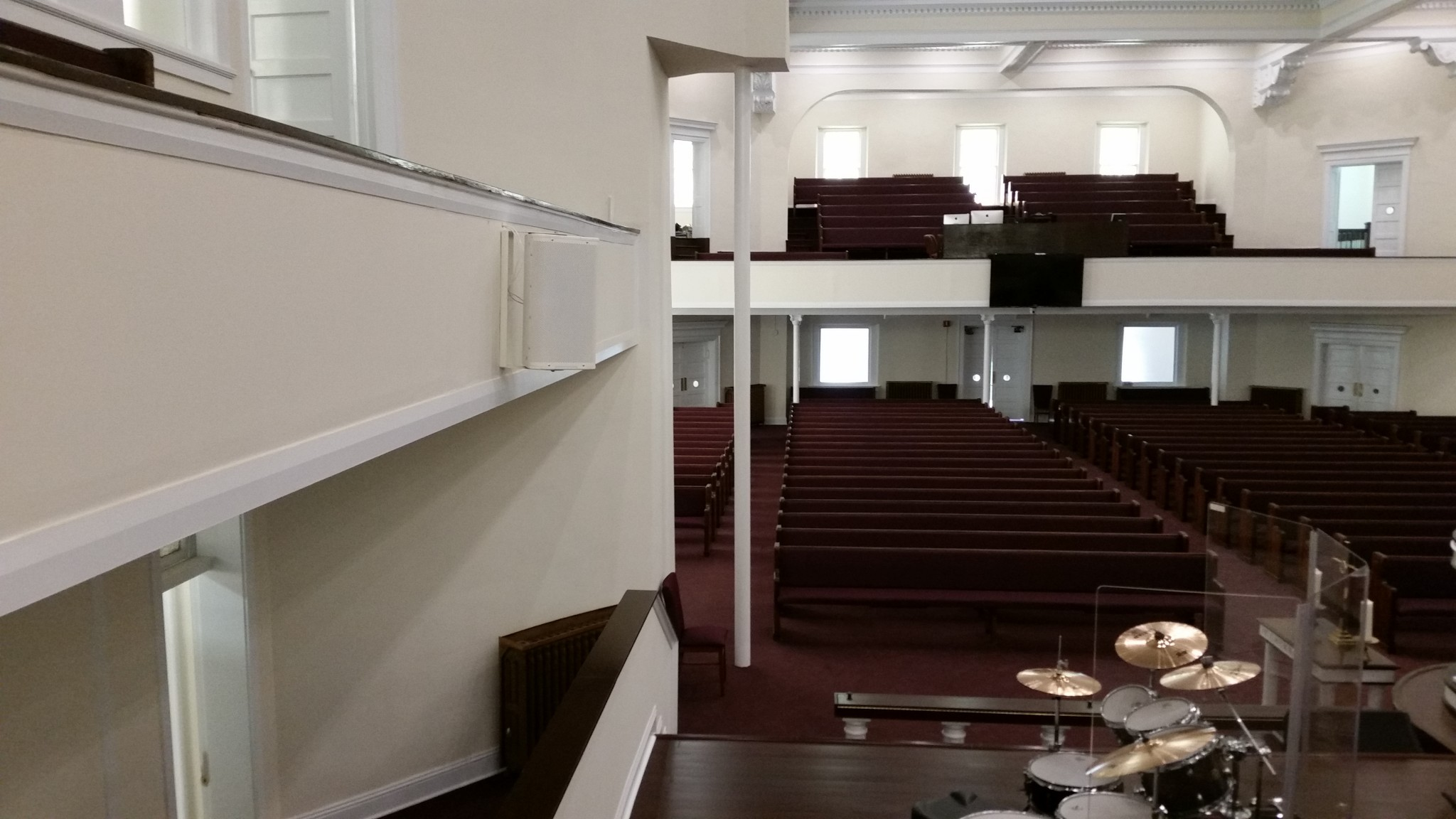 Mt Olive Cathedral - View from choir