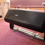"New Harmony Baptist - QSC Dual 8"" Stage Monitors"