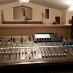 Control Booth - Mercer Baptist Church